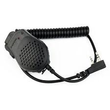 2 PIN PTT altoparlante Mic del microfono per Kenwood BAOFENG POFUNG WOUXUN Radio