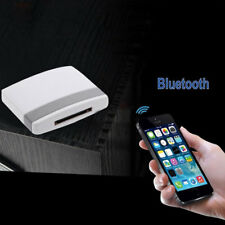Bluetooth Music Audio Receiver Adapter for iPod iPhone 4/4s 30Pin Dock Speaker