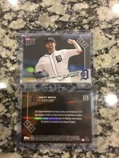 2017 Topps NOW #618 Matt Boyd Tigers Only 166 Of These Cards Were Printed Rare!