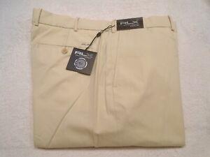 RLX Ralph Lauren RLX Golf Performance Fabric Tan Golf Pants NWT 40 x 30 $97.50