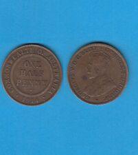 § Australie  Australia  Bronze Coin Georges V One Half Penny Bronze 1914 N° 2