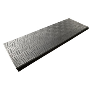 Rubber Stair Tread Heavy Duty Non-Slip Stair Pads, Outdoor & Indoor Stair Mats