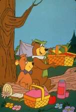 Yogi Bear # 10 - 8 x 10 T-Shirt Iron On Transfer w/BooBoo and a pic-a-nic basket