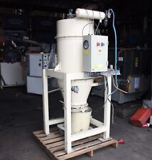 Busch 3.45kW regenerative ring vacuum pump system tank cyclone dust extractor