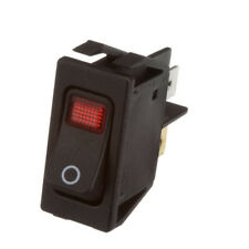 LIGHTED SWITCH ROCKER RED LT fits 1/2 X 1-1/8 Hole 16A/125V for Hatco FSDT421459