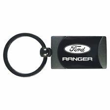 Ford Ranger Key Ring Gunmetal Rectangular Keychain