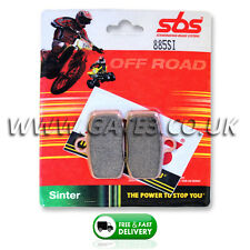 KTM 85SX SX 85 2012-2016 SBS 885SI Sintered Competition Front Brake Pads