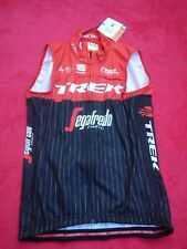 Original Team Trek Factory Segafredo Pro Team Cycling Wind Weste Gr. M Neu