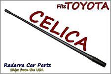 "FITS: 1990-2004 Toyota Celica - 13"" SHORT Custom Flexible Rubber Antenna Mast"