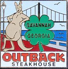A5024 Outback Steakhouse Savannah, Georgia hat lapel pin