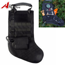 MOLLE Webbing Tactical Stocking Magazine Dump Drop Pouch Christmas Storage Bag