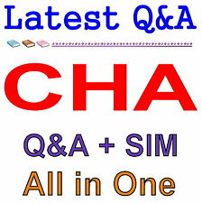 Certified Hotel Administrator CHA Exam Q&A PDF+SIM