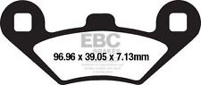 FIT PEUGEOT  Metropolis 400T (3 Wheel Model) 14>15 EBC FRONT CARBON BRAKE PADS