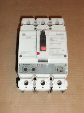 GE FEH FEH34DB125KF 3 POLE 125 AMP 480V CIRCUIT BREAKER FLAW