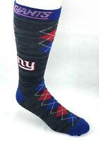 New York Giants Football NFL Black RMC Blue Red Fan Nation Crew Socks