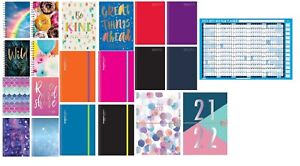 2021 - 2022 A5 Academic mid year Page a Day / Week to View student diary planner