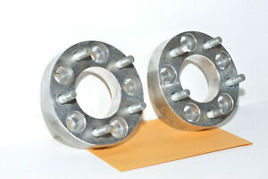 """Lexus Toyota IS250 IS350 2X 1"""" 25mm Thick 5x4 Wheel Spacers Studs 5x114.3"""