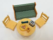 Epoch, 99F.P. & Unbranded Lot Of 6 Miniature Furniture & Kitchen Items