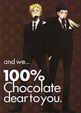 Naruto X Sasuke doujinshi (Yumemata Signal) and we 100% chocolate dear to you.