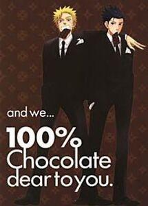 Naruto X Sasuke doujinshi (Yumemata Signal) and we 100% chocolate (B5 20pages)