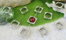 70pcs Tibetan silver square bead frame spacers FC10939