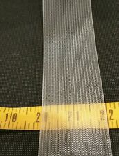 8 yds 2 inch Translucent Woven Buckram Great for sheer fabric shower curtain