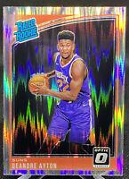 Deandre Ayton 2018-19 Donruss Optic Shock #157 Rated Rookie RC Phoenix Suns