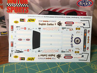 McEwen Mongoose NHRA Funny Car DECAL SHEET Revell Search 1:25 LBR Model Parts