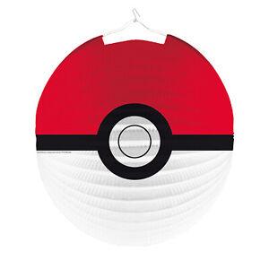 Pokemon Kinder Laterne LAMPION rund 25cm