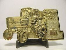 IH International 5288 Tractor Number One Belt Buckle Ltd Ed Kansas Meeting 1981