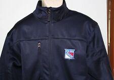 NHL New York Rangers Bud Light Antigua Men's Large Zippered Jacket