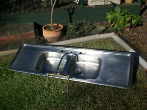 KITCHEN SINK [Radiant] Double sink & Double strainer + extras