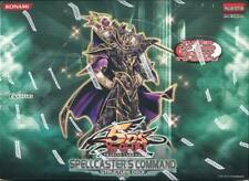 YUGIOH SPELLCASTER'S COMMAND STRUCTURE DECK BOX BLOWOUT CARDS