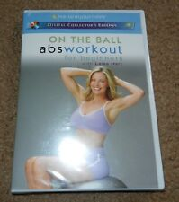 On the Ball - Abs Workout for Beginners with Leisa Hart (DVD, 2003) *BRAND NEW*