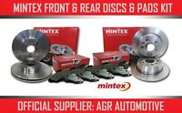 MINTEX FRONT + REAR DISCS PADS FOR LROVER RANGE ROVER EVOQUE 2.2 TD 190HP 2011-
