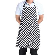 Waterproof Kitchen Apron Chef Supplies Kitchenware Home Halter Striped Apron HD