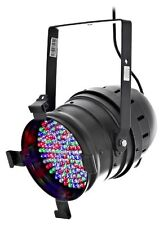 2x led par 64 v2 l.e.d. led par-can parcan dmx dj disco party club stairville