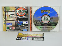 Sega Saturn SEGA RALLY CHAMPIONSHIP with SPINE CARD * Import Japan Game ss