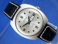 Zeno Compressor Automatic Watch 1970s NOS Vintage Swiss 25 Jewel Cal ETA 2789