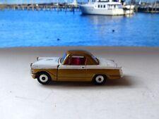 Corgi Toys 231 Triumph Herald 1500 Coupé in gold and white