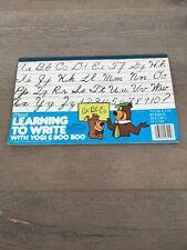 1978 Used Hanna Barbera Yogi Bear & Boo Boo Mead Learning to Write Book
