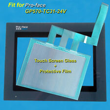 for Pro-face GP570-TC31-24V Touch Screen Glass + Protective Film