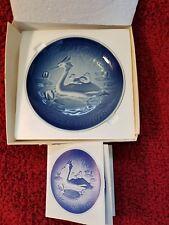 Bing grondahl 1978 Mothers Day Plate w Coa