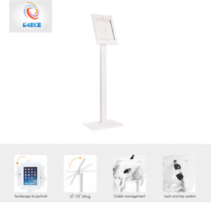 """Steel Anti-Theft Tablet Holder Stand Mount Standing For Apple Ipad Pro 12.9"""" UK"""