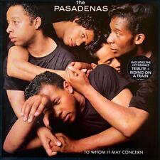 The Pasadenas - To Whom It May Concern (LP) (VG-/VG-)