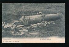 Dutch East Indies Groet uit BATAVIA Heilige Kanon c1902 u/b PPC