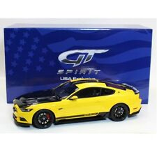 GT SPIRIT 1/18 Ford Mustang Shelby GT Yellow 2015 SCALE RESIN US002