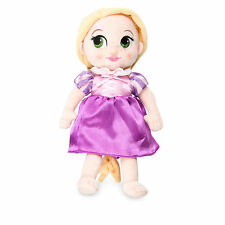 "Disney Store Animators 13"" Princess Rapunzel Plush Toy Toddler Doll Tangled"