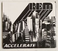R.E.M. Accelerate Rem CD UK 2008 digipack desplegable
