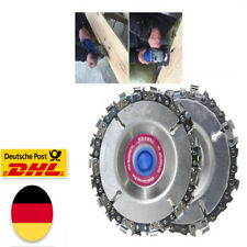 "4"" Winkelschleiferscheibe 22 Zahnkettensägeblatt Holzschnitzkettensäge WE"
